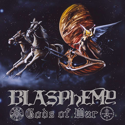 BLASPHEMY - Gods of War/Blood Upon The Altar