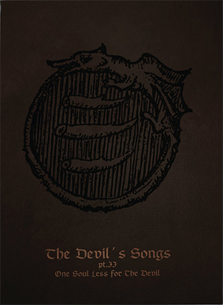 CINTECELE DIAVOLUI - The Devil's Songs Part II: One Soul Less for the Devil A5 DigiCD