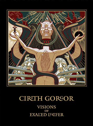 CIRITH GORGOR - Visions of Exalted Lucifer A5 Digi