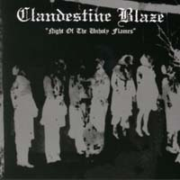 CLANDESTINE BLAZE - Night of the Unholy Flames 12