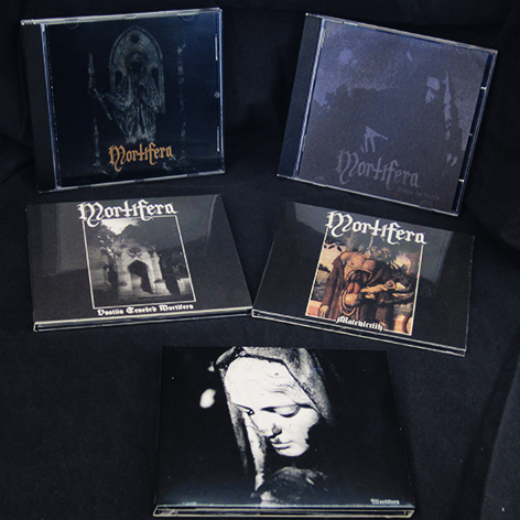 MORTIFERA - Discography (5CDs) Pack