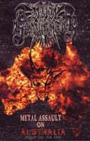 NUNSLAUGHTER - Metal Assault on Australia: August 2nd-9th 2003 DVD