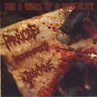 PARRICIDE/ INCARNATED/ REEXAMINE - The 3 Ways of a Brutality