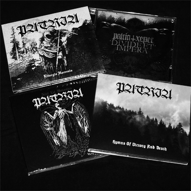 PATRIA - Discography Pack (4 CDs)