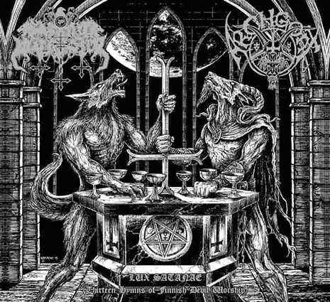 SATANIC WARMASTER/ ARCHGOAT - Lux Satanae (Thirteen Hymns of Finnish Devil Worship)