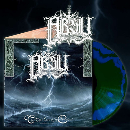 ABSU - The Third Storm Of Cythraul Gatefold Swirl 12