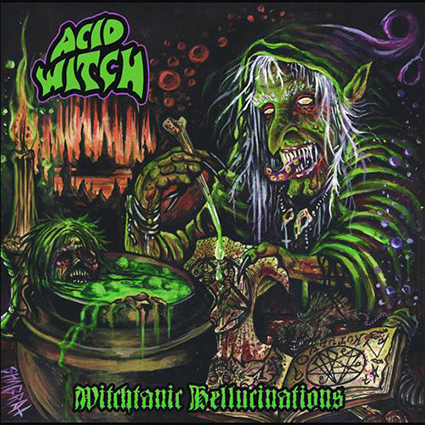 ACID WITCH - Witchtanic Hellucinations Gatefold Orange/ White 12