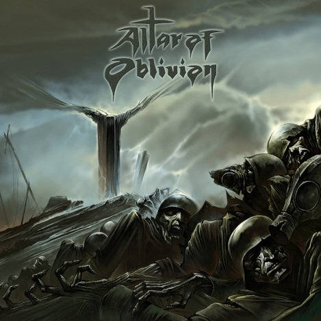 ALTAR OF OBLIVION - Sinews Of Anguish Black Gatefold 2x12
