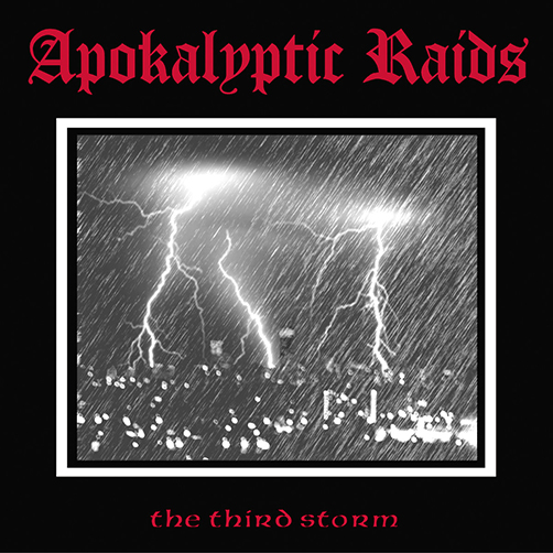 APOKALYPTIC RAIDS - The Third Storm - World War III Clear/Red Splatter 12