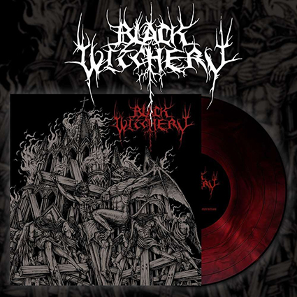 BLACK WITCHERY - Inferno Of Sacred Destruction Red Galaxy 12