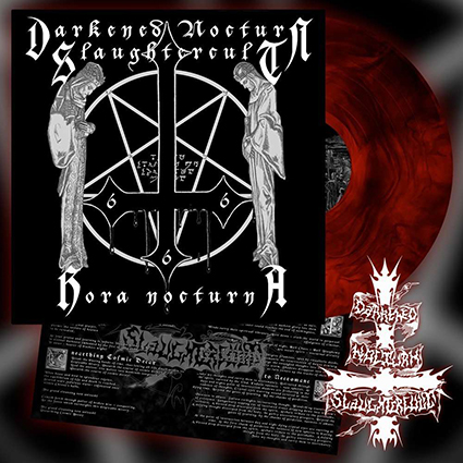 DARKENED NOCTURN SLAUGHTERCULT - Hora Nocturna Gatefold Red Galaxy 12