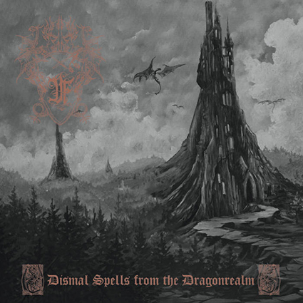 DRUADAN FOREST - Dismal Spells from the Dragonrealm Gatefold Neon Yellow & Green 2x12