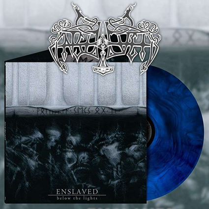 ENSLAVED - Below the Lights Blue Galaxy 12