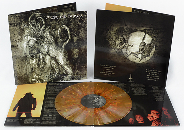 FROM THE DEPTHS - S/T Gatefold Splatter 12