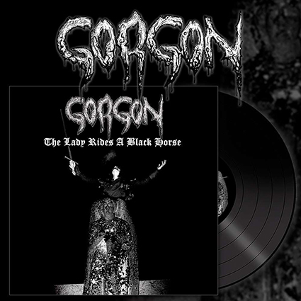 GORGON - The Lady Rides A Black Horse 12