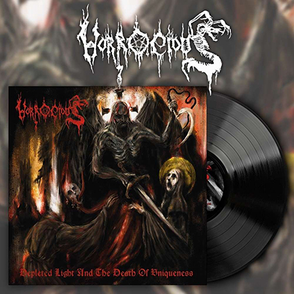 HORROCIOUS - Depleted Light And The Death Of Uniqueness Black 12