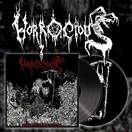 HORROCIOUS - Obscure Dominance Of Nothingness 12