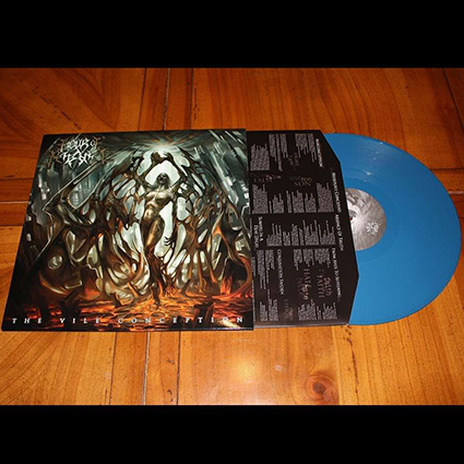 HOUR OF PENANCE - The Vile Conception Blue 12