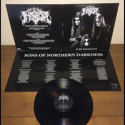 IMMORTAL - Pure Holocaust Gatefold Black Marble 12