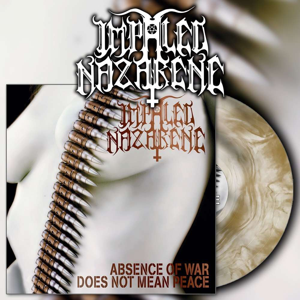 IMPALED NAZARENE - Absence Of War Does Not Mean Peace Gatefold Gold Galaxy 12