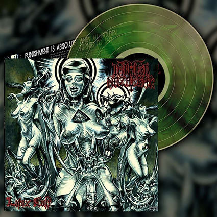 IMPALED NAZARENE - Latex Cult Gatefold Green Galaxy 12