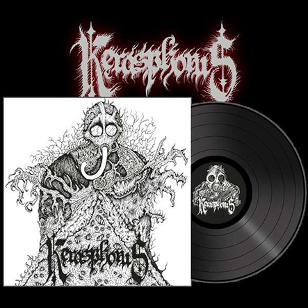 KERASPHORUS - Necronaut/ Cloven Hooves At The Holocaust Dawn Gatefold Black 12
