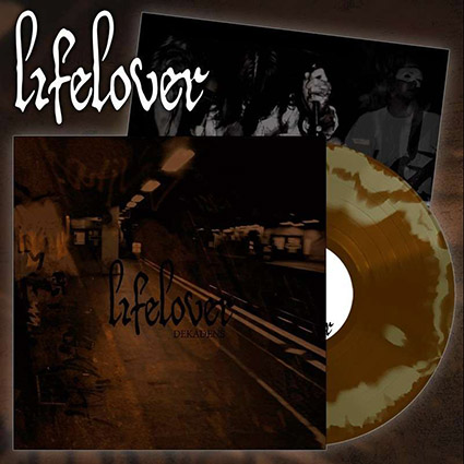 LIFELOVER - Dekadens Gold & Brown Swirl  12