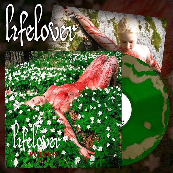 LIFELOVER - Pulver Green & Gold Swirl 12