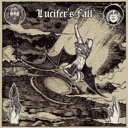 LUCIFER'S FALL - S/T Black 12