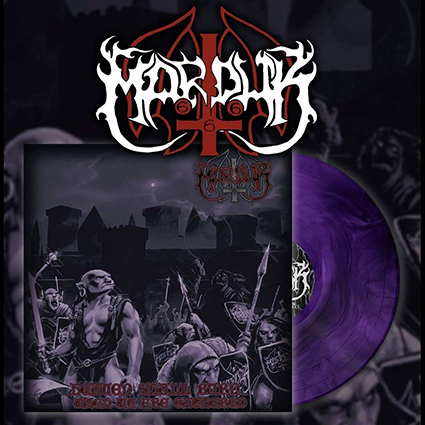 MARDUK - Heaven Shall Burn...When We Are Gathered Purple Marble 12