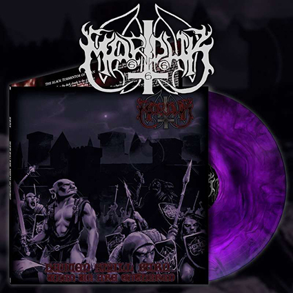 MARDUK - Heaven Shall Burn...When We Are Gathered Purple Galaxy 12