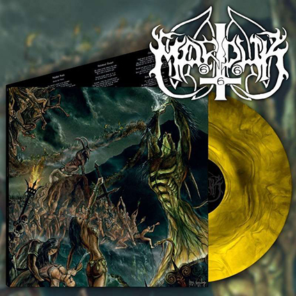 MARDUK - Opus Nocturne Gatefold Yellow Galaxy 12