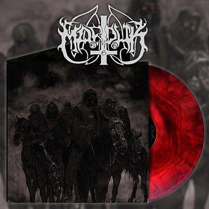 MARDUK - Those Of The Unlight Gatefold Red Galaxy 12