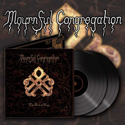 MOURNFUL CONGREGATION - The Book of Kings Gatefold Black 2x12