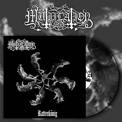 MÜTIILATION - Rattenkönig Black Galaxy 12