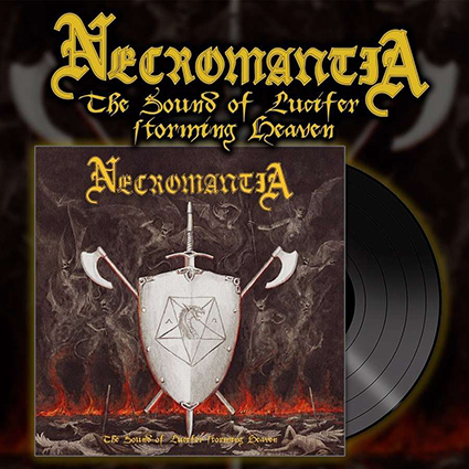 NECROMANTIA - The Sound Of Lucifer Storming Heaven Gatefold Black 12