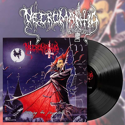 NECROMANTIA - Crossing The Fiery Path Black 12
