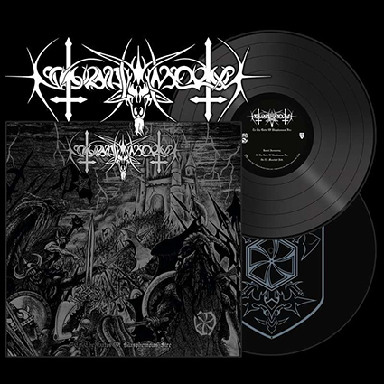 NOKTURNAL MORTUM - To The Gates Of Blasphemous Fire Gatefold Black 2x12