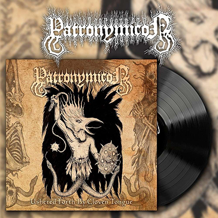 PATRONYMICON - Ushered Forth By Cloven Tongue Black 12