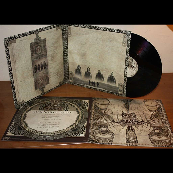 PHAZM - Scornful Of Icons Gatefold Black 12