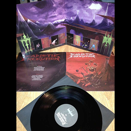 SADISTIK EXEKUTION - We Are Death Fukk You Gatefold Black 12