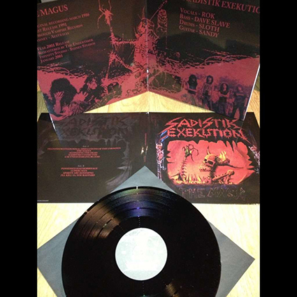 SADISTIK EXEKUTION - The Magus Gatefold Black 12