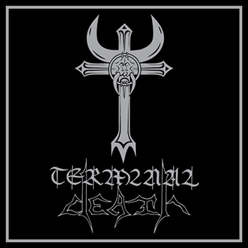 TERMINAL DEATH - S/T Gatefold Silver/Black Marbled 12