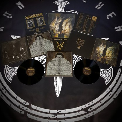 VASSAFOR - Malediction Gatefold 12