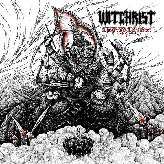 WITCHRIST The Grand Tormentor Gatefold Red 2x12