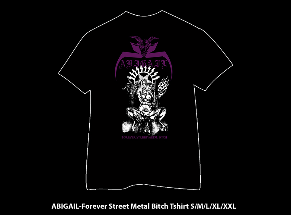 ABIGAIL - Forever Street Metal Bitch TS