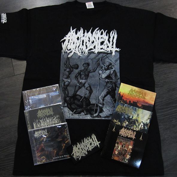 ARGHOSLENT - Discography (6 CDs)/T-Shirt/Patch Pack
