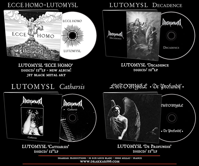 LUTOMYSL - Discography Pack (4CDs)