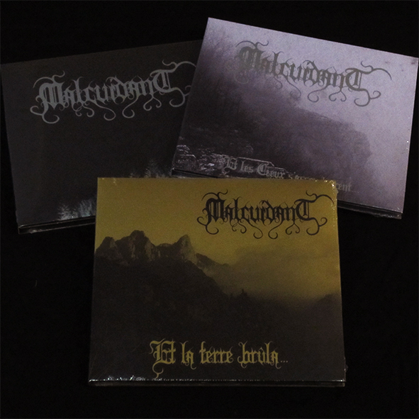 MALCUIDANT - Discography (3DigiCDs) Pack