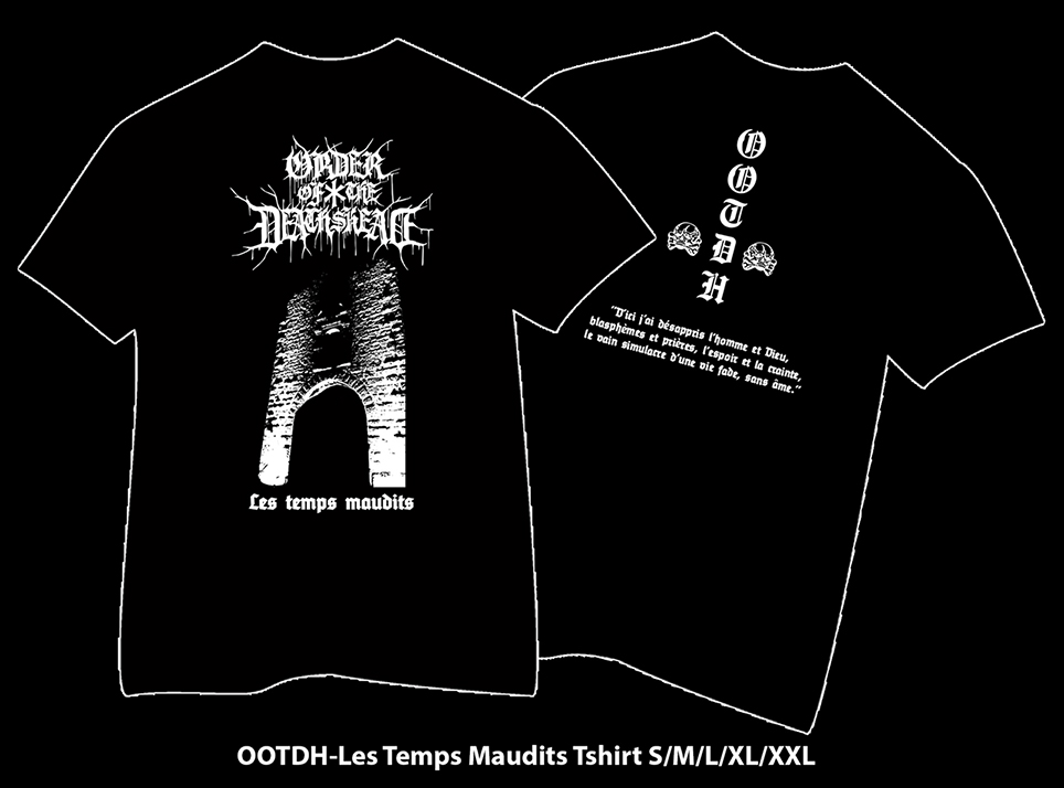ORDER OF THE DEATH'S HEAD - Les Temps Maudits TS